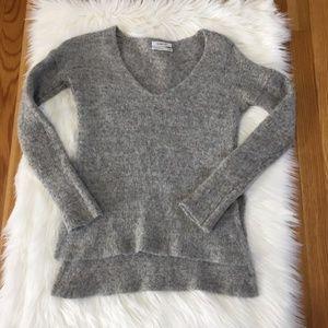 Aritzia Gray Alpaca Wool Babaton Sweater XS
